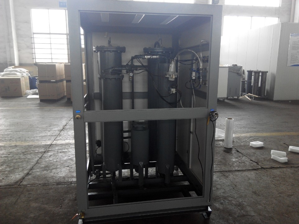 CE ISO Carbon Steel Psa Nitrogen Generation System With Carbon Molecular Sieve