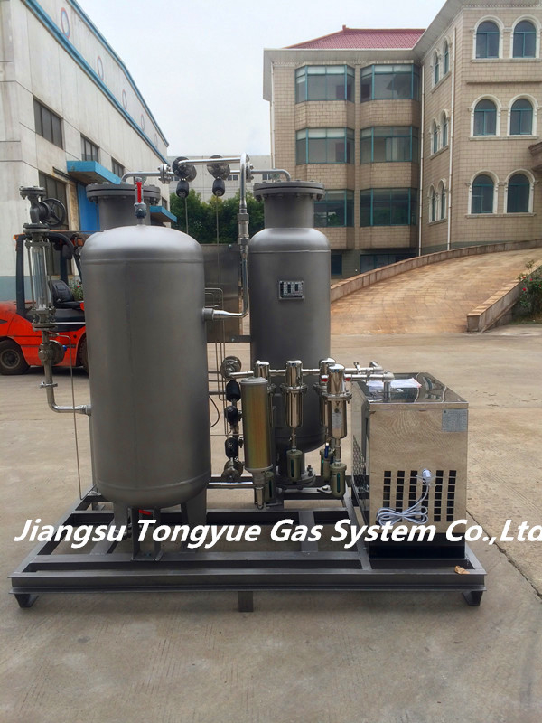 99.999% Purity Stainless Steel PSA Nitrogen Generator 0.1-0.65 Mpa For Food Fresh Packing