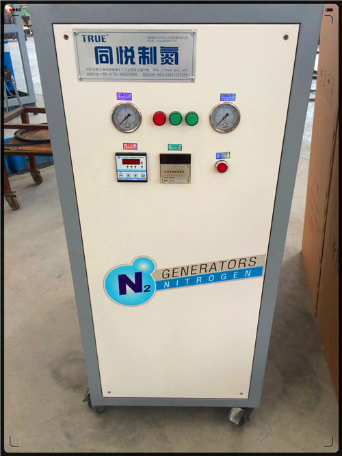 3 - 20 Nm3/H High Purity Small Nitrogen Generator For Food / Chemcial Industry