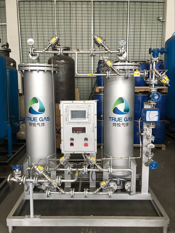 PSA Stainless Industrial Nitrogen Generator For Petroleum / Natural Gas Industry